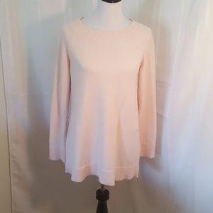 Pink tunic sweater LOFT size small